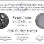Veres János Emlékérem